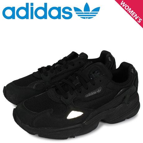 アディダス オリジナルス adidas Originals アディダスファルコン スニーカー レディース ADIDASFALCON W ブラック 黒 G26880 [予約 2/7 新入荷予定]