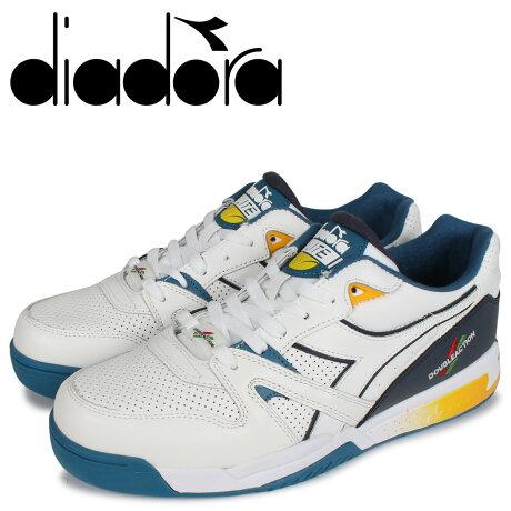ディアドラ Diadora デュラテック エリート スニーカー メンズ DURATECH ELITE ホワイト 白 175729-8015 [予約 2/3 新入荷]