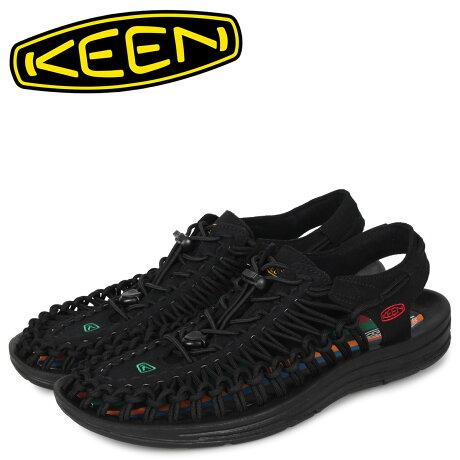 キーン KEEN ユニーク サンダル スポーツサンダル メンズ UNEEK ブラック 黒 1023048 [予約 1/22 新入荷予定]