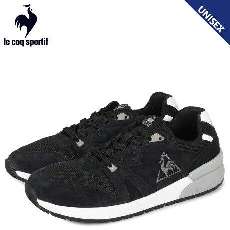 ルコック スポルティフ le coq sportif ブローニュ SD スニーカー メンズ レディース BOULOGNE SD ブラック 黒 QL1PJC14BK [予約 1/24 新入荷予定]