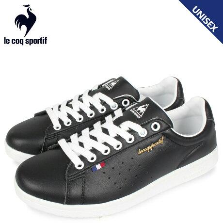 ルコック スポルティフ le coq sportif スニーカーメンズ レディース LA ローラン LA ROLAND LE ブラック 黒 QL1PJC18BK [予約 2/21 新入荷予定]