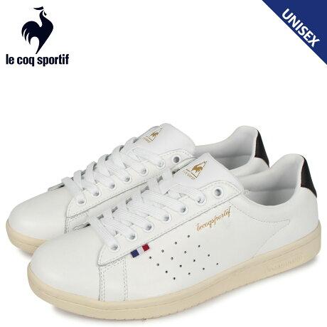 ルコック スポルティフ le coq sportif スニーカーメンズ レディース LA ローラン LA ROLAND LE ホワイト 白 QL1PJC18WB [予約 2/21 新入荷予定]