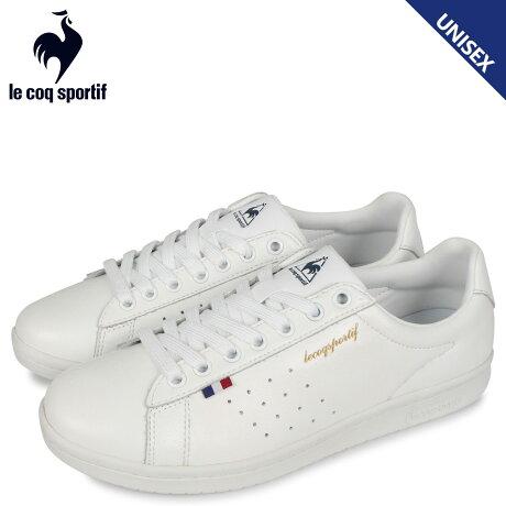 ルコック スポルティフ le coq sportif スニーカーメンズ レディース LA ローラン LA ROLAND LE ホワイト 白 QL1PJC18WH [予約 2/21 新入荷予定]