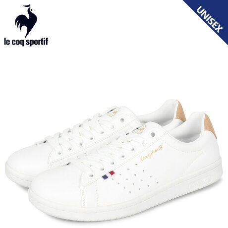 ルコック スポルティフ le coq sportif LA ローラン スニーカー メンズ レディース LA ROLAND SL ホワイト 白 QL1PJC19WB [予約 1/24 新入荷予定]