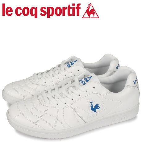 ルコック スポルティフ le coq sportif スニーカー メンズ プリューム 2 PLUME 2 ホワイト 白 QL1PJC20WB [予約 2/21 新入荷予定]