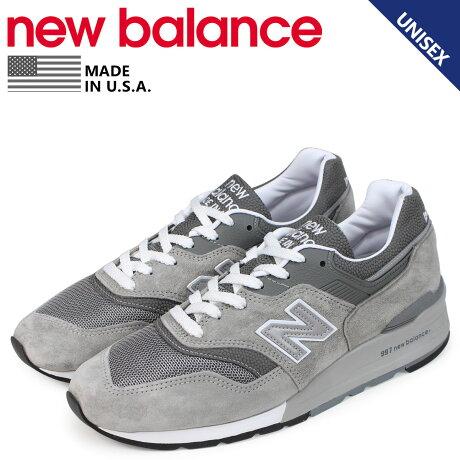 ニューバランス new balance 997 スニーカー メンズ Dワイズ MADE IN USA グレー M997GY [予約 1/28 追加入荷予定]
