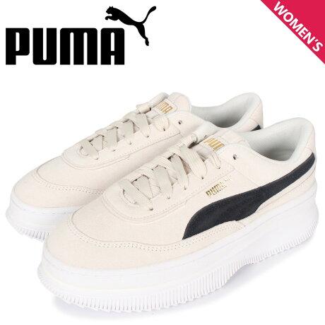 プーマ PUMA デバ スエード スニーカー レディース デヴァ スウェード DEVA SUEDE WNS ホワイト 白 372423-01 [2/3 新入荷]