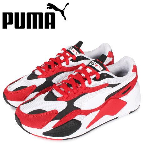 プーマ PUMA スーパー スニーカー メンズ RS-X3 SUPER レッド 372884-01 [予約 1/31 新入荷予定]