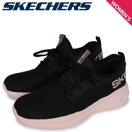 スケッチャーズ SKECHERS ゴーラン スニーカー レディース GORUN FAST QUICK STEP ブラック 黒 128010 [予約 2/18 新入荷予定]
