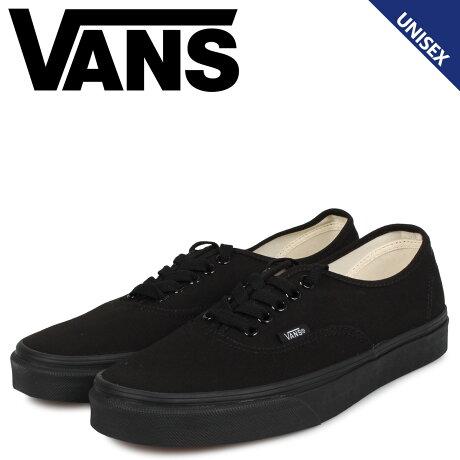 VANS ヴァンズ オーセンティック スニーカー メンズ レディース バンズ AUTHENTIC ブラック 黒 VN000EE3BKA [1/10 追加入荷]