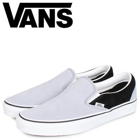 VANS ヴァンズ クラシック スリッポン スニーカー メンズ CLASSIC SLIP-ON グレー VN0A4U38WVB [予約 2/7 新入荷予定]