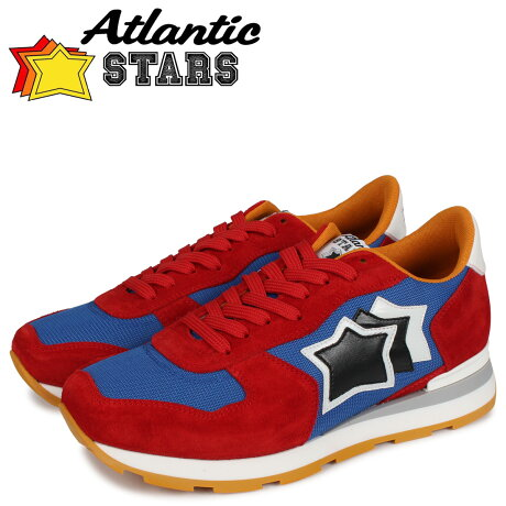 アトランティックスターズ Atlantic STARS アンタレス スニーカー メンズ ANTARES レッド FAA-50B [予約 2/21 新入荷予定]