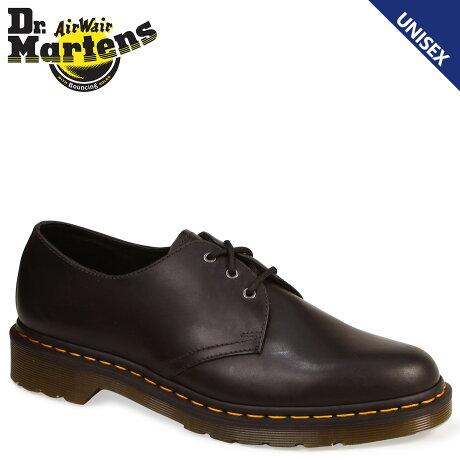 Dr.Martens ドクターマーチン 3ホール 1461 メンズ シューズ CORE 3EYE SHOE ORLEANS R22829029 ブラック 黒