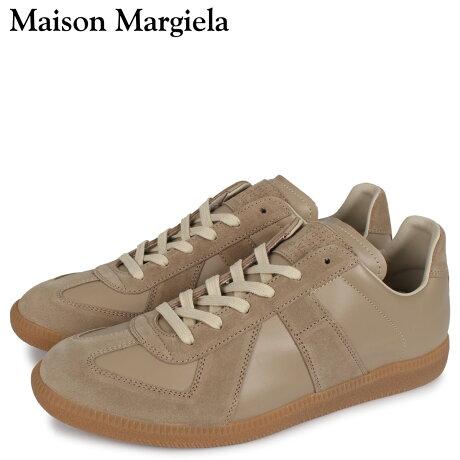 メゾンマルジェラ MAISON MARGIELA レプリカ スニーカー メンズ REPLICA LOW TOP ベージュ S57WS0236 [予約 3/3 新入荷予定]