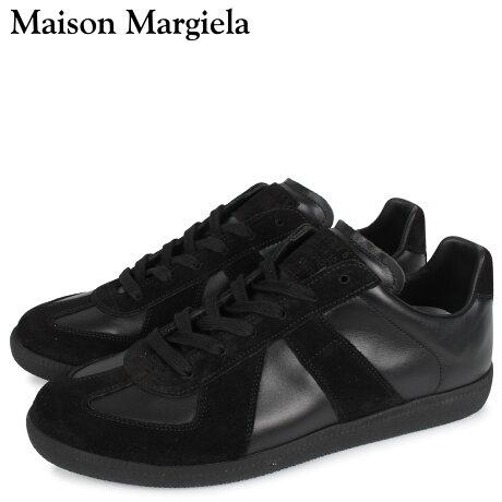 メゾンマルジェラ MAISON MARGIELA レプリカ スニーカー メンズ REPLICA LOW TOP ブラック 黒 S57WS0236 [予約 3/3 新入荷予定]