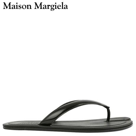 メゾンマルジェラ MAISON MARGIELA サンダル ビーチサンダル メンズ TABI FLIP FLOP ブラック 黒 S57WX0023 [予約 3/3 新入荷予定]