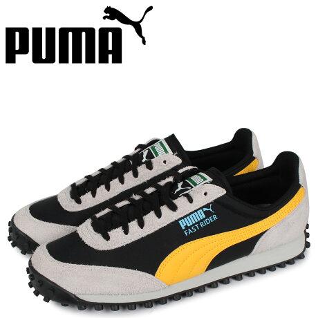 プーマ PUMA ファスト ライダー スニーカー メンズ FAST RIDER FURY ブラック 黒 37160201 [予約 2/26 新入荷予定]