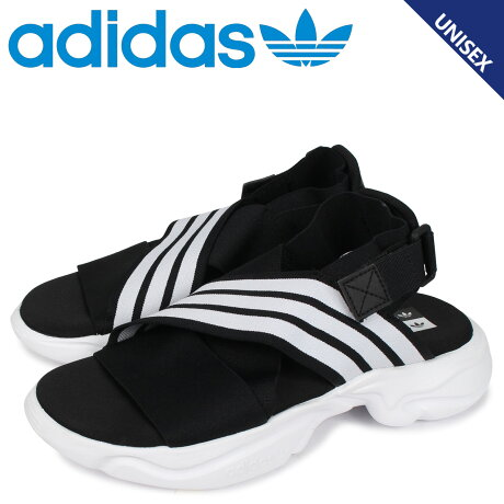 adidas Originals アディダス オリジナルス マグマ サンダル スポーツサンダル メンズ レディース 厚底 MAGMUR SANDAL W ブラック 黒 EF5863