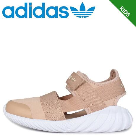 adidas Originals アディダス オリジナルス ドゥーム サンダル キッズ DOOM SANDAL C ベージュ FV7599
