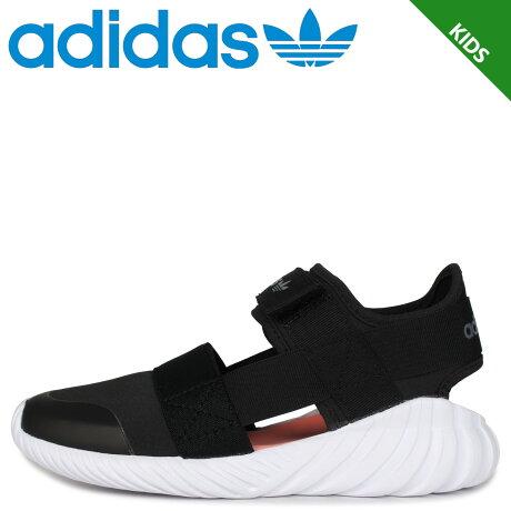 adidas Originals アディダス オリジナルス ドゥーム サンダル キッズ DOOM SANDAL C ブラック 黒 FV7600