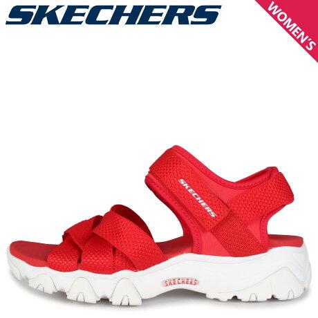 SKECHERS スケッチャーズ ディライト 2.0 サンダル スポーツサンダル レディース DLITES 2.0 MEGA SUMMER レッド 32996
