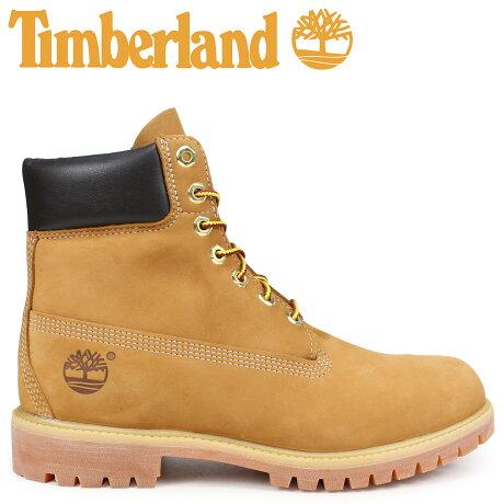 Timberland ティンバーランド ブーツ メンズ 6インチ MENS 6-INCH PREMIUM WATERPROOF BOOTS イエロー 10061