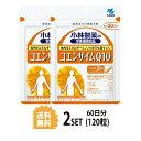 【2パック】【送料無料】 小林製薬 コエンザイムQ10 約30日分×2セット (120粒) 美容サプリメント 1