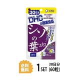 【送料無料】 シソの葉エキス 30日分 (60粒) ディーエイチシー サプリメント シソエキス ハーブ 健康食品 粒タイプ