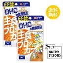 【お試しサプリ】【2個セット】【送料無料】 DHC 主食ブロッカー 20日分×2パック (120粒) ディーエイチシー