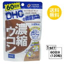 【送料無料】 DHC 濃縮ウコン 60日分 (120粒) ディーエイチシー