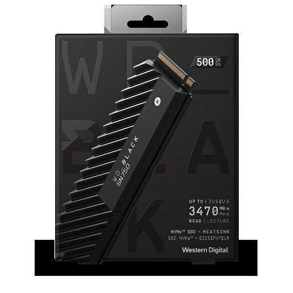 【送料無料】Western Digital WD BLACK SSD 500GB WDS500G3XHC ウエスタンデジタル