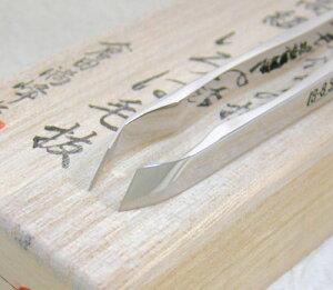 倉田満峰作・最高級いろは毛抜き斜刃