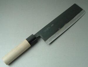 正本・鍛造菜切り包丁(両刃作りですから、左利きの方でもOKです。)