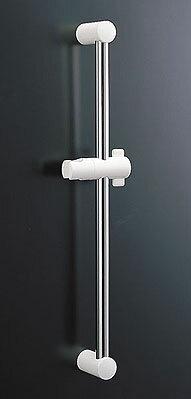 LIXIL,INAXシャワー部品,スライドバー付シャワーフック,ホワイト調ライトグレー色,長さ600ミリ,BF-27B(600)