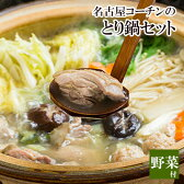 【野菜付き】地鶏の王様!名古屋コーチン鍋セット[4-5名様用][名古屋コーチン水炊き鍋][ 国産 鶏肉 ]【楽ギフ_のし宛書】