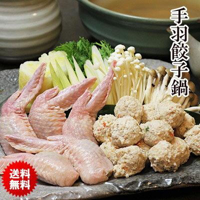 大人気!手羽餃子鍋セット(2〜3人前)