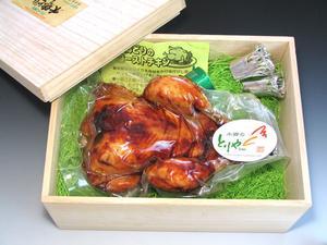 【桐箱入り】名古屋コーチンのローストチキン丸蒸し焼き【送料無料】名古屋コーチン