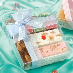 【日本製】PVCクリアケースカレ小20個【中身が見えるクッキー・チョコギフト】