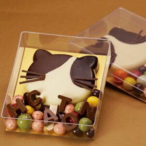 【日本製】PVCクリアケースカレ小20個【中身が見えるクッキー・チョコギフト】【ゼリーやモンブランなどケーキにも!】