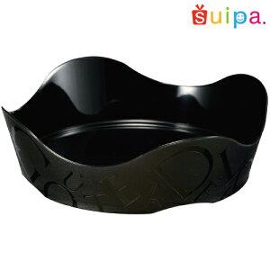 【ケーキトレープラスチック】PS76φアラモードトレーガトデリ黒50個【インジェクショントレープラスチックのケーキトレー】【アラモードトレー】