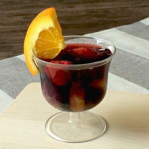 【ワイングラス風パフェプラスチック】【日本製】PS71-125NEWワインカップ10個【高級感のある脚付きカップ】【ワイングラス風】【使い捨てOK】