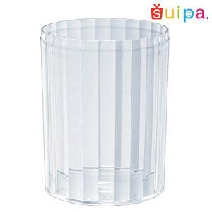 【日本製】PS68-270インライン容器10個【ストライプ縦縞デザートカッププリンカッププリン型プラスチック容器カップ】