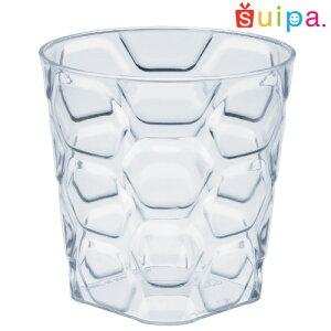 【日本製】PS71-175パベカップ容器20個【ヘキサゴン柄六角形デザートカッププリンカッププリン型プラスチック容器カップ】