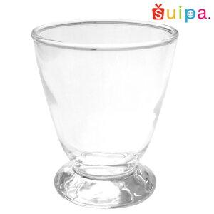 【ガラスパフェグラス脚付き】コーラスグラス1個【お求めやすい1個販売ご家庭向け】【1個あたり170円!】