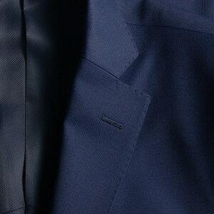 ジャケットメンズビジネス紺アウター黒TW素材ノッチドラペル2ツボタン(ジャケパン紺ブレザー)【送料無料】05P03Dec16