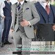 段返り3ツボタン モッズスタイル スリーピーススーツ(春夏物 ビジネススーツ スリムスーツ メンズ 3ピーススーツ パーティー 二次会 結婚式 Mods メンズスーツ 紳士服) suit【送料無料】 【楽天スーパーSALE】