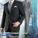 ブリティッシュ 段返り3ツボタンスーツ(春夏物 洗える パンツウォッシャブル機能 メンズスーツ スーツ ビジネススーツ 紳士服 クールビズ)【送料無料】