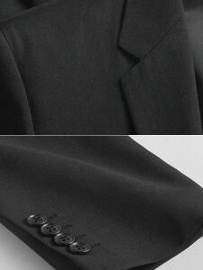 スタイリッシュ2ツボタンツーパンツスーツ(春夏物メンズビジネス洗えるウォッシャブルスペアパンツ2本付き紳士服2パンツスリムスリムスーツ)suit【送料無料】
