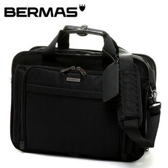 伯碼BERMAS!3way公事包挎包帆布背包商務包60438男子的女子的通勤男女兩用包包工作包漂亮