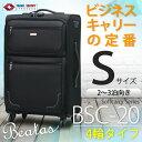 【送料無料・半年修理付】【あす楽対応】Beatas(ビータス)BSC-20 4輪タイプ スーツケース...